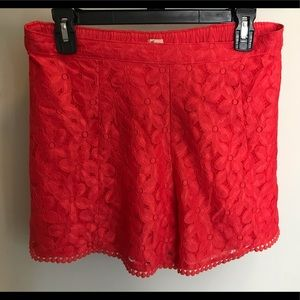 🌺 BRIGHT Floral Lace Shorts